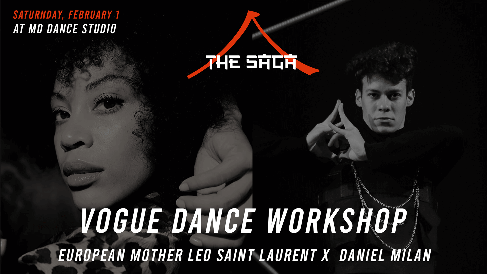 The Saga Vogue Dance Workshop – Leo Saint Laurent x Daniel Milan