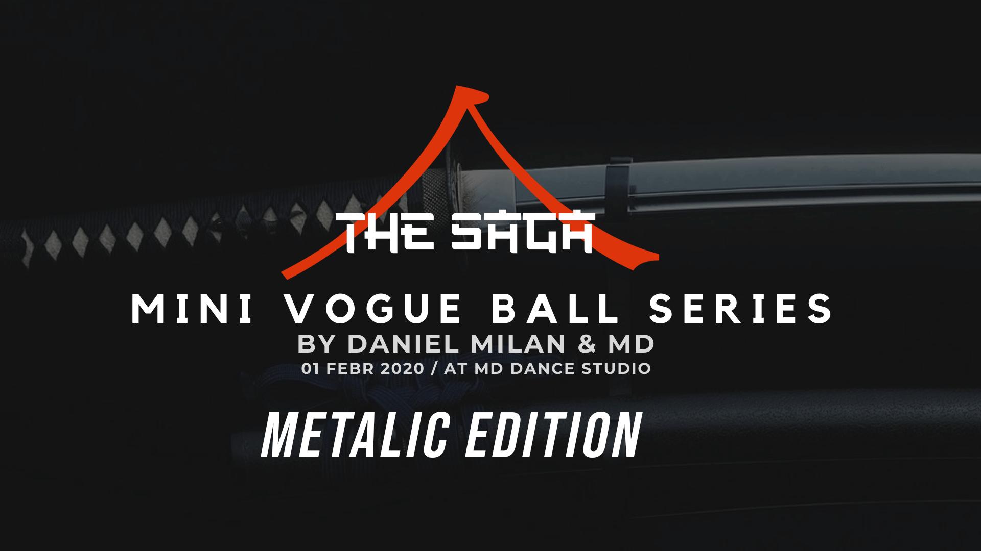 The Saga – Mini Vogue Ball series by Daniel Milan & MD