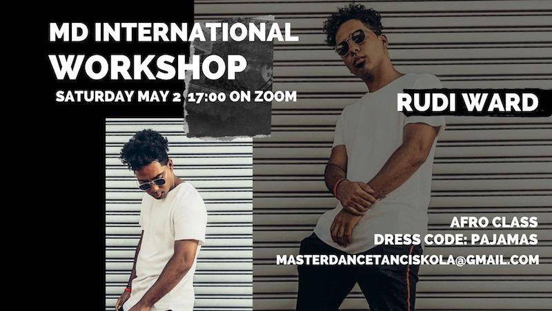 Rudi Ward Online workshop – Afro class