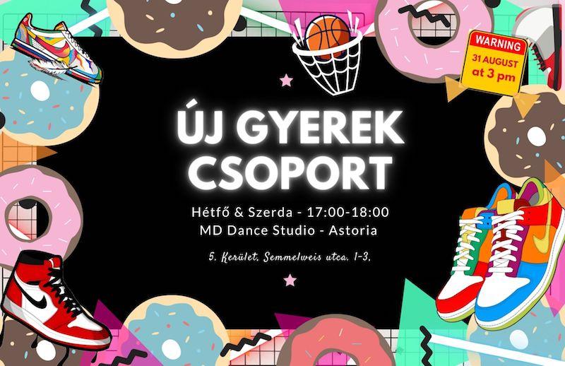 MD Hip-hop Gyerek Csoport