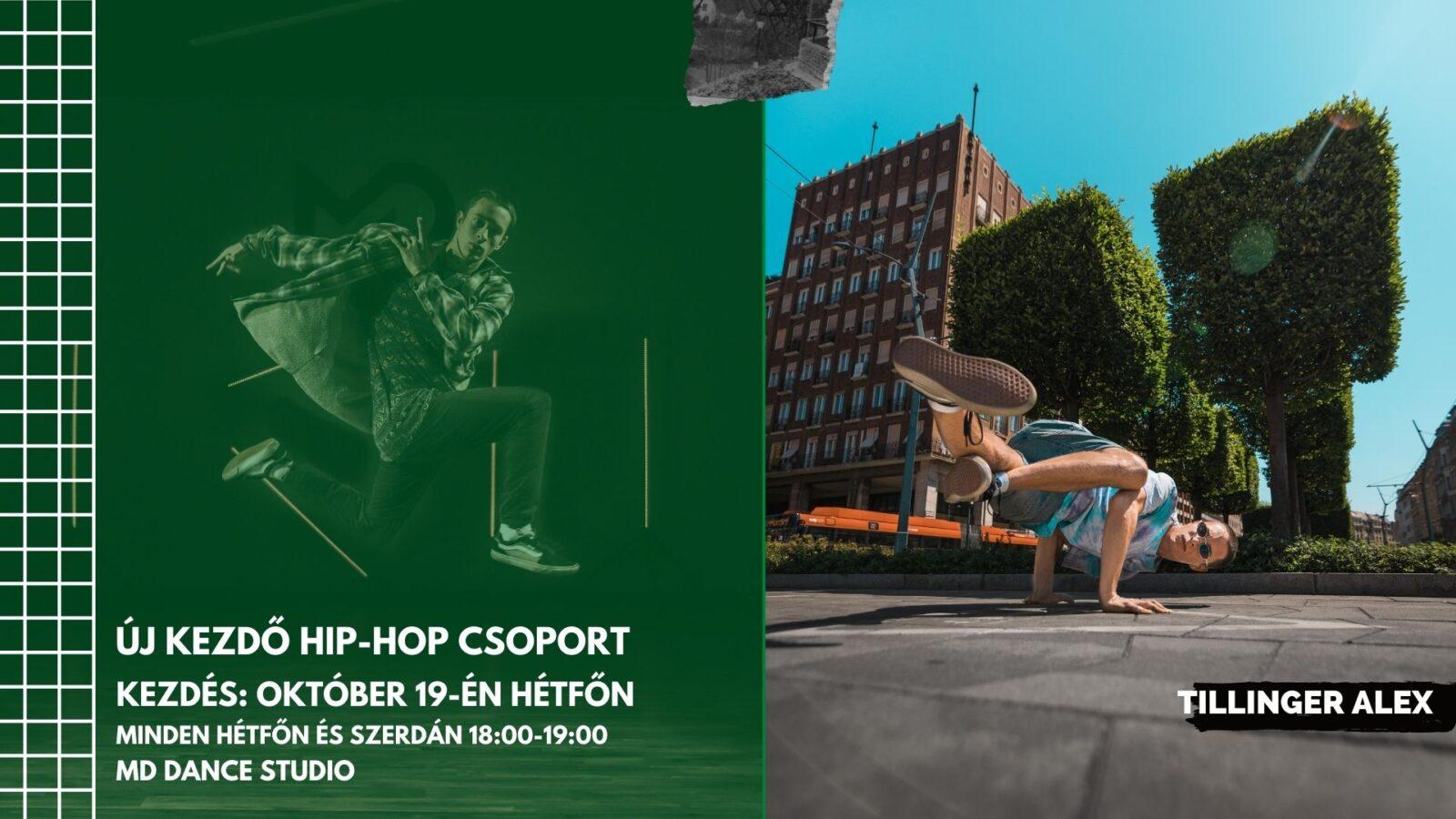 Új kezdő hip-hop tánccsoport